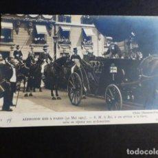 Postales: ALFONSO XIII REY DE ESPAÑA VISITA A PARIS EN 1905 POSTAL. Lote 195819911