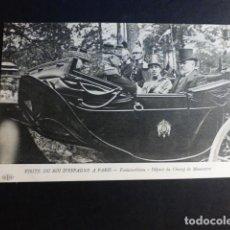 Postales: ALFONSO XIII REY DE ESPAÑA VISITA A PARIS EN 1905 POSTAL. Lote 195819938