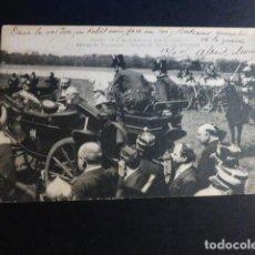 Postales: ALFONSO XIII REY DE ESPAÑA VISITA A PARIS EN 1905 POSTAL. Lote 195820017