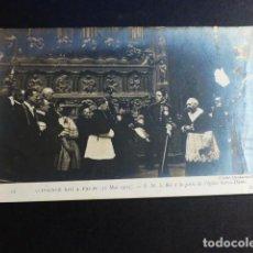 Postales: ALFONSO XIII REY DE ESPAÑA VISITA A PARIS EN 1905 POSTAL. Lote 195820081