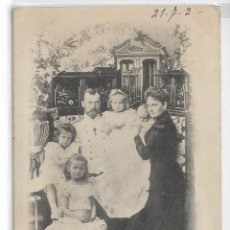 Postales: ZAR NICOLAS II - ALEJANDRA FIÓDOROVNA - HIJAS - RUSIA 1901 - P30374. Lote 197651368