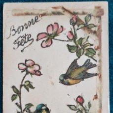 Postales: BONITA POSTAL FRANCESA DE 1909. Lote 202401452