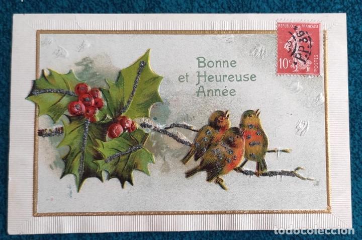 BONITA POSTAL FRANCESA DE 1903 (Postales - Postales Temáticas - Conmemorativas)
