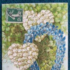 Postales: BONITA POSTAL FRANCESA DE 1909. Lote 202401811