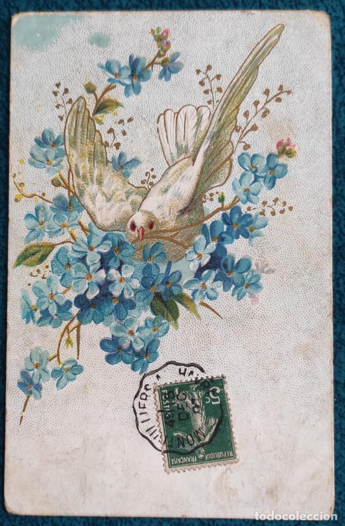BONITA POSTAL FRANCESA DE 1907 (Postales - Postales Temáticas - Conmemorativas)