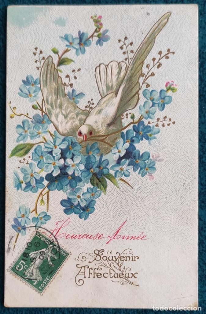 BONITA POSTAL FRANCESA DE 1909 (Postales - Postales Temáticas - Conmemorativas)