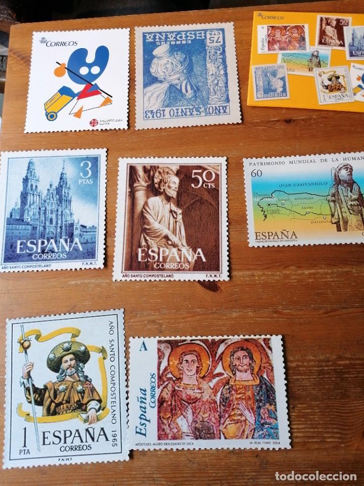 LOTE DE 7 POSTALES XACOBEO 2004 (Postales - Postales Temáticas - Conmemorativas)