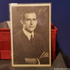 Postales: POSTAL S.A.R. DON JUAN DE BORBON Y BATTENBERG CONDE DE BARCELONA. DISCURSO.. Lote 205597583