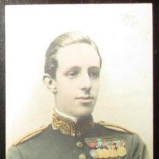 Postales: POSTAL ALFONSO XIII. CLICHÉ FRANZEN, MADRID. SIN CIRCULAR NI DIVIDIR.. Lote 205785762
