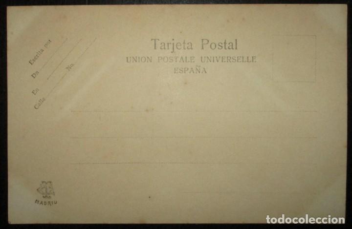Postales: POSTAL ALFONSO XIII. CLICHÉ FRANZEN, MADRID. SIN CIRCULAR NI DIVIDIR. - Foto 2 - 205785762