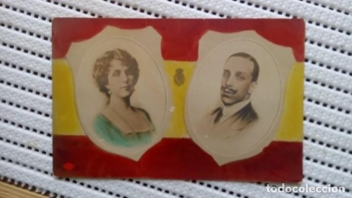 REYES DE ESPAÑA 1892 (Postales - Postales Temáticas - Conmemorativas)