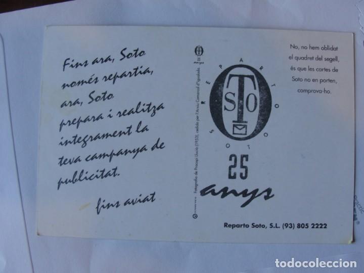 Postales: 25 ANYS ANIVERSARIO REPARTO SOTO / IGUALADA 1993 2018 - ENVIO GRATIS - Foto 2 - 210118945