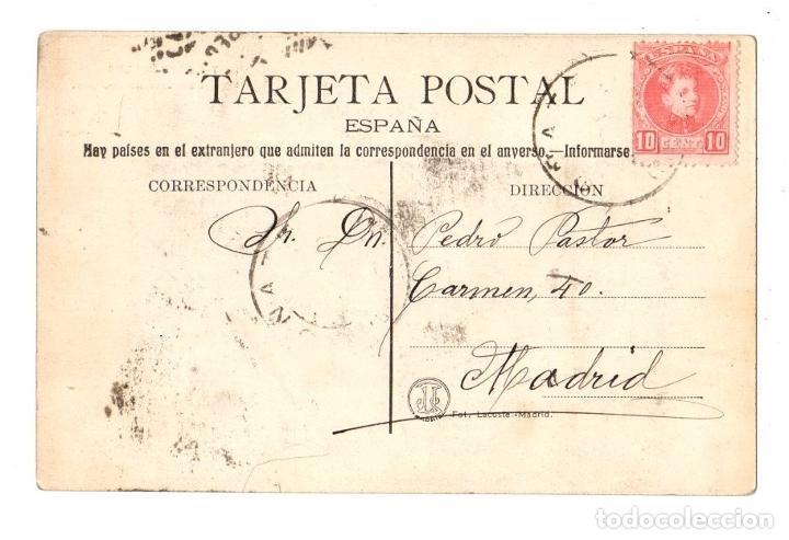 Postales: TARJETA POSTAL BODAS REALES. Nº 7. CONCURSO AEROSTATICO. C. 1910 - Foto 2 - 212985818