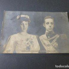 Postales: ALFONSO XIII Y VICTORIA EUGENIA REYES DE ESPAÑA POSTAL. Lote 216587087