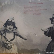 Postales: NOUVELLE ANNEE - 1903-1904. Lote 217491163