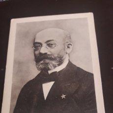 Postales: ANTIGUA POSTAL FOTOGRAFÍCA, ZAMENHOF, PRINCIPIO DE 1900. Lote 217718540
