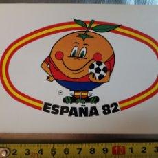 Postales: POSTAL DE NARANJITO MUNDIAL 1982 ESPAÑA. Nº6 XII CAMPEONATO MUNDIAL DE FÚTBOL. Lote 218295176