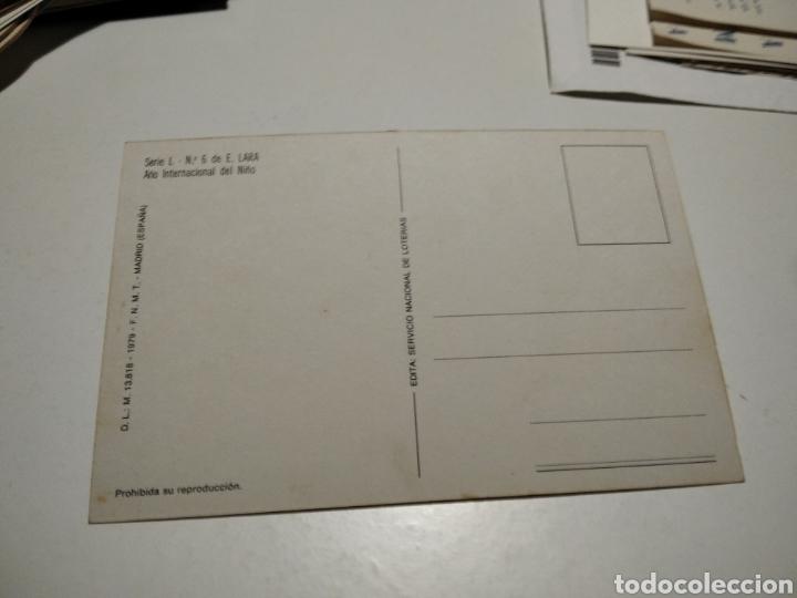 Postales: Postal lotería nacional año internacional del Niño - Foto 2 - 219117906