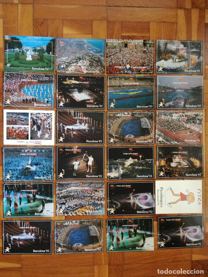 COLECCION OLIMPICA BARCELONA 92 CEREMONIA DE INAUGURACIÓN 20 POSTALES DIFERENTES + 4 REPETIDAS (Postales - Postales Temáticas - Conmemorativas)
