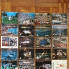 Postales: COLECCION OLIMPICA BARCELONA 92 CEREMONIA DE INAUGURACIÓN 20 POSTALES DIFERENTES + 4 REPETIDAS. Lote 219133030