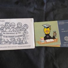 Postales: SOBRE CON 12 POSTALES LOTERÍA NACIONAL DIA INTERNACIONAL DE NIÑO (1979). Lote 219724933