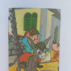 Postales: FELIZ DIA CUMPLEAÑOS, HAPPY BIRTHDAY, JOYEUX ANNIVERSAIRE, 1991 MICKEY. Lote 222186381