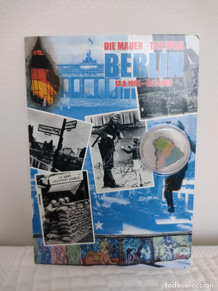 POSTAL MURO BERLÍN (Postales - Postales Temáticas - Conmemorativas)
