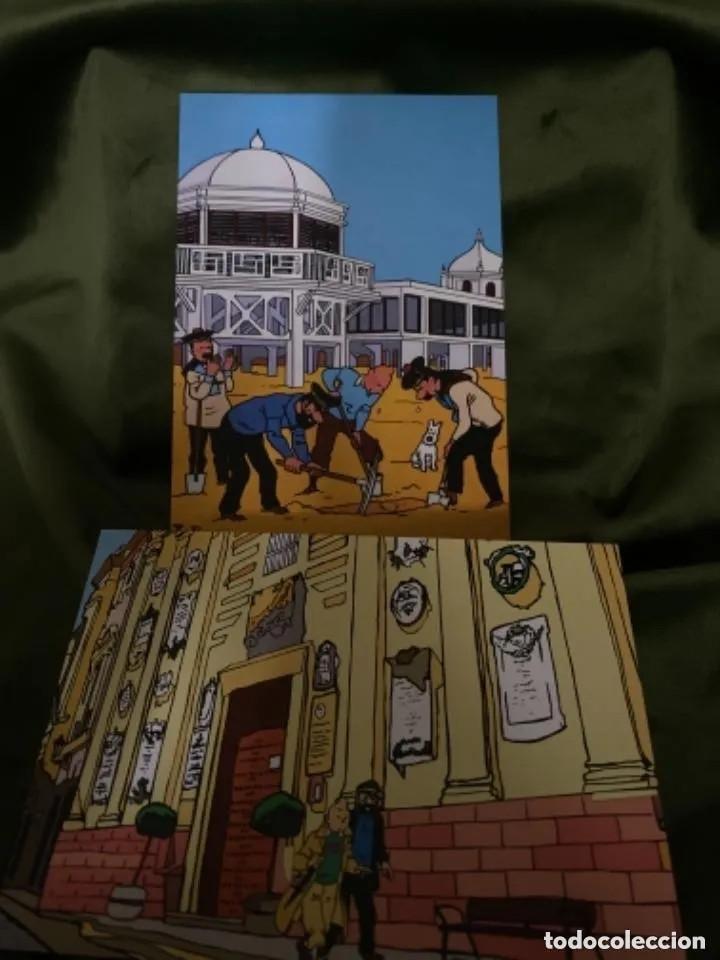 Postales: RARAS POSTALES TINTIN EN CÁDIZ POSTALES DE CÓMIC - Foto 4 - 236180255