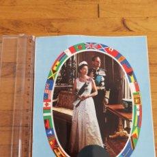 Postales: POSTAL GRANDE THE SILVER JUBILEE QUEEN ELISABETH II 1952-1977. Lote 241878550