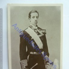Postales: H. M. DON ALFONSO XIII. KING OF SPAIN. RAPHAEL TUCK & SON. Lote 243956535