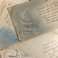 Postales: 10 POSTALES CENTENARIO MIGUEL DE CERVANTES SAAVEDRA.DON QUIJOTE DE LA MANCHA 1905. Lote 245292155