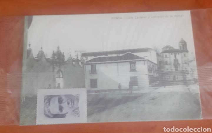 Postales: Sello troquelado de metal Vitoria kent 20pesetas portal ronda calle castellar y convento de la merce - Foto 3 - 251664045