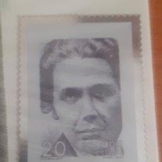 Postales: SELLO TROQUELADO DE METAL VITORIA KENT 20PESETAS PORTAL RONDA CALLE CASTELLAR Y CONVENTO DE LA MERCE. Lote 251664045