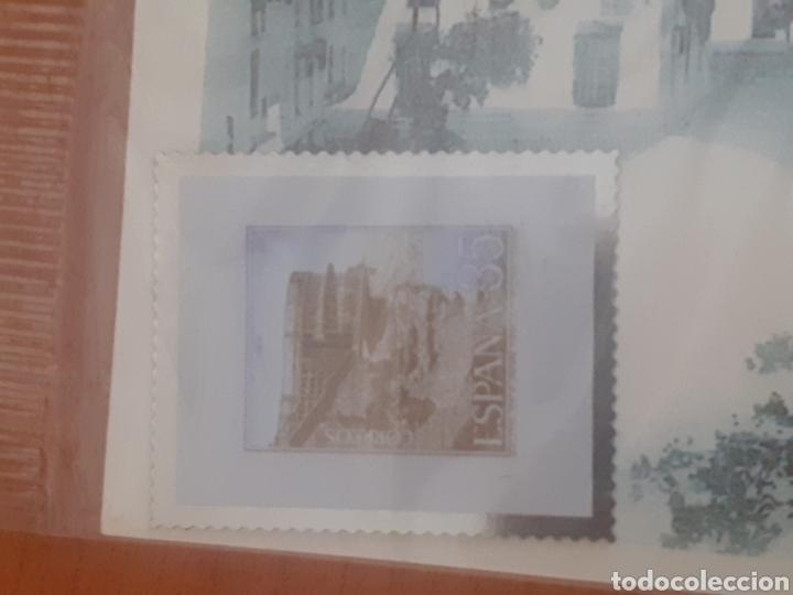 SELLO TROQUELADO DE METAL BALCÓN DE UROPA 35PESETAS ESTEPONA PLAZA AUGUSTO SUÁREZ DE FIGEROA (Postales - Postales Temáticas - Conmemorativas)