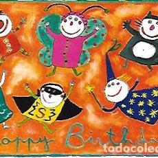 Postales: JOYEUX ANNIVERSAIRE = HAPPY BIRTHDAY / CLAIRE FRANEK. PARIS : ED. CARTES D'ART. Lote 253454380