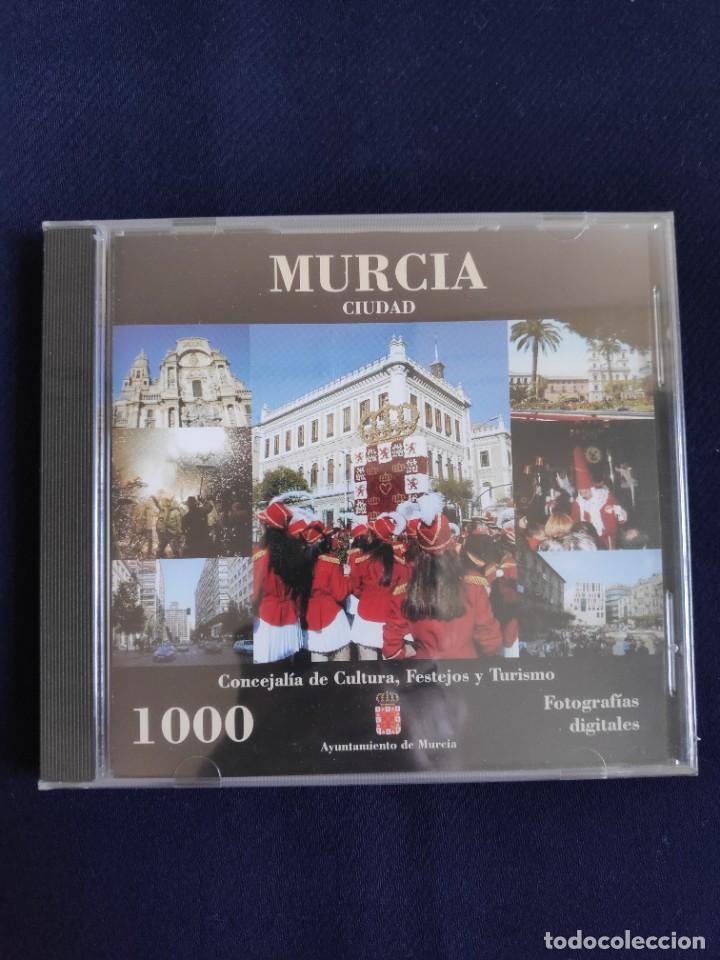 CD 1000 FOTOGRAFÍAS DIGITALES DE MURCIA CIUDAD, AUTOR LUIS FEDERICO VIUDES, 1998-99 (Postales - Postales Temáticas - Conmemorativas)