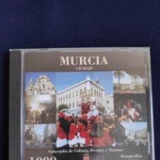 Postales: CD 1000 FOTOGRAFÍAS DIGITALES DE MURCIA CIUDAD, AUTOR LUIS FEDERICO VIUDES, 1998-99. Lote 254972830