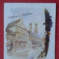 Postales: POST CARD POSTKARTO 36A UNIVERSALA KONGRESO DE ESPERANTO SALUTON EL MUNKENO LENGUA LENGUAJE LANGUAGE. Lote 257974930