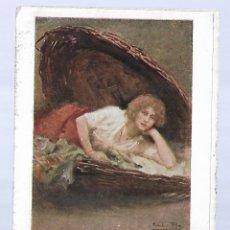 Postales: 1R-PUBLICIDAD -POSTAL ANTIGUA- REVISTA BLANCO Y NEGRO - CREACIONES MARIANELA. Lote 262048785