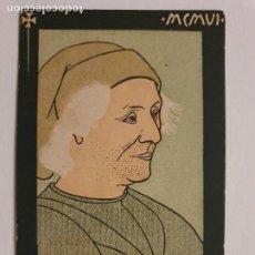 Postales: RAMON MUNTANER - PRIMER CONGRÉS INTERNACIONAL DE LA LLENGUA CATALANA 1906 - P51131. Lote 262402065