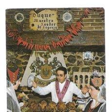 Postales: 1R-PUBLICIDAD -POSTAL ANTIGUA- EL DUQUE RESTAURANTE MESON ASADOR DE SEGOVIA. Lote 263006505