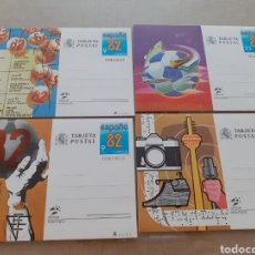 Postales: LOTE 4 TARJETA POSTAL MUNDIAL 1982 ESPAÑA. Lote 263560790