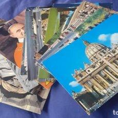 Postales: LOTE DE 15 POSTALES DE ROMA Y CIUDAD DEL VATICANO SIN CIRCULAR DEL AÑO SANTO 1975. Lote 265754399