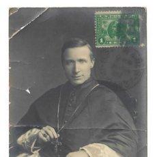Postales: CARDENAL JAMES GIBBONS - CIRCULADA EN 1913 - SELLO DE ESTADOS UNIDOS. Lote 266008278