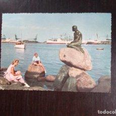 Postales: LA SIRENITA DE COPENAGHEN.. Lote 269574098