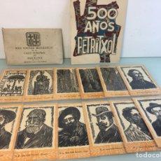 Postales: SERIE 12 POSTALES CALLE PETRITXOL, BARCELONA, COMPLETA. Lote 269631088