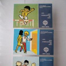 Postales: POSTALES AÑO INTERNACIONAL DEL NIÑO 1979. Lote 269716983