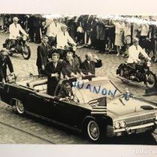 Postales: BERLÍN. POSTAL FOTOGRAFÍCA VISITA DE J F KENNEDY (A.1963) FACSIMIL.. PHOTO ARCHIV KD. Lote 270166453