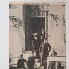 Postales: CARLOS MARÍA DE BORBÓN - LOS DUQUES DE MADRID - VENECIA PALACIO LOREDÁN - CARLISMO - P53422. Lote 270636883