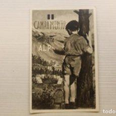 Postales: POSTAL CAMPAMENTO MARISTA, ALP. Lote 270944268
